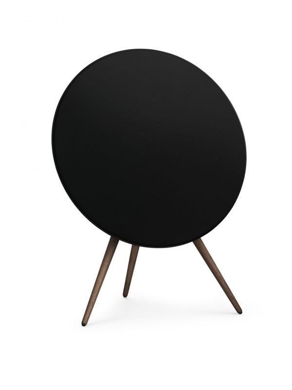 Beoplay A9 (Black Cover, Smoked Oak Legs)