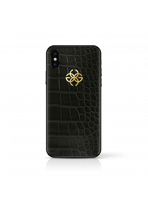iPhone X 256 GB Black Croco - Black